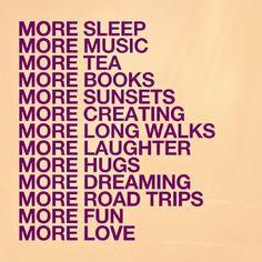 More, more, more!!!