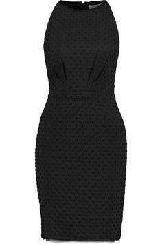 TORY BURCH Ivana Matelassé Matte-Satin Mini Dress. #toryburch #cloth #dress