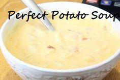 Weight Watchers friendly potato soup recipe 4pts.