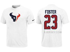 http://www.xjersey.com/nike-houston-texans-23-foster-name-number-white-tshirt.html Only$26.00 #NIKE HOUSTON TEXANS 23 FOSTER NAME & NUMBER WHITE T-SHIRT Free Shipping!