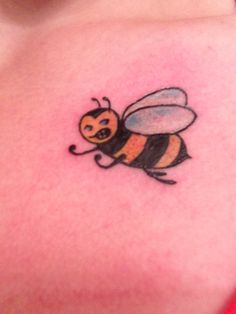 My new angry bumblebee tattoo!