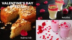 Home Cooking Valentine's Day Special Dessert CakeIngredientsSemolina - 1 cupSugar - 1 cupBaking powder - 1 tspWhisked curd - 1 cupMilk - cupMelted butter - cupV Milk Powder Recipe, Coconut Milk Powder, Semolina Cake Recipe Indian, Roses Valentine, Valentines, Ramadan Special Recipes, Lazy Cake, Vegetarian Chocolate Cake, Syrup Cake