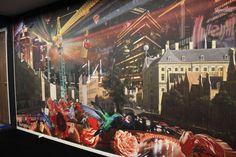 Katarina Stupavska print design Amsterdam, Print Design, Wall Decor, Wallpaper, Apartments, Painting, King, Decoration, Digital