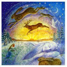Gaia's Winter Rest - Wendy Andrew