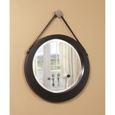 Howard Elliott Bloom Round Mirror 92013