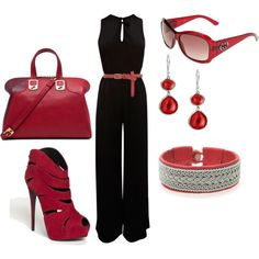 red, created by ttroub on Polyvore