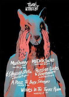 Tivoli Utrecht gig poster