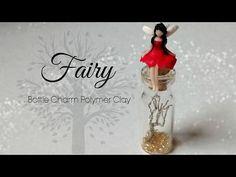 ♡ Fairy Bottle Charm Polymer Clay Tutorial ♡