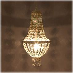 送料無料 シャンデリア アンティーク調 ライト 間接照明 エンパイア 簡単取付 シーリングライト