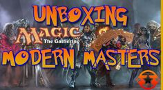 Magic the Gathering #mtg Modern Master Booster Pack #Opening http://www.youtube.com/watch?v=t-eBBxEf23o #youtube #stonelane1827