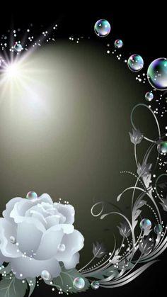 Wallpaper… By Artist Unknown… Bling Wallpaper, Butterfly Wallpaper, Heart Wa… - Handy Hintergrund Frühling Wallpaper, Flower Background Wallpaper, Flower Phone Wallpaper, Beautiful Nature Wallpaper, Heart Wallpaper, Butterfly Wallpaper, Flower Backgrounds, Cellphone Wallpaper, Colorful Wallpaper