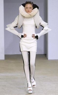 Gareth Pugh in The Week of The Fashion of Paris Spring-Summer 2009