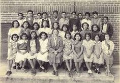 This is an image of a segregated Mexican school in Orange County, California.  It was called Lincoln Elem School.  circa 1930s