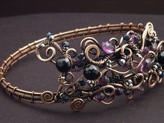 How to Make a Wire Wrapped Armband Tutorial - The Beading Gem's Journal