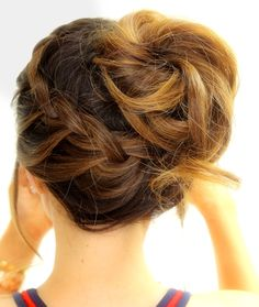 How to create 3 cute & easy braided hairstyles for school, workouts, sports, and everyday for long medium hair. (cool easy hairstyles for school) Braided Hairstyles For School, Easy Updo Hairstyles, Pretty Hairstyles, Hipster Hairstyles, Workout Hairstyles, Hairstyle Tutorials, Hairdos, Up Dos For Medium Hair, Medium Hair Styles