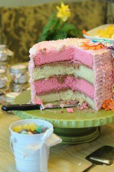 Baby Girl Shower Fun Girly Cake