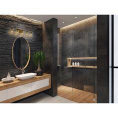 Bathroom Design Luxury, Bathroom Layout, Modern Bathroom Design, Modern Luxury Bathroom, Bathroom Mirrors, Modern Bathrooms, Remodel Bathroom, Bathroom Cabinets, Minimal Bathroom