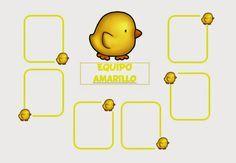 MIENTRAS APRENDO ME DIVIERTO: CARTELES EQUIPOS AULA INFANTIL 2 Learning Through Play, Planner Stickers, Kindergarten, Classroom, Activities, School, Color, K2, Ideas