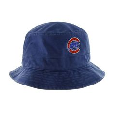 Chicago Cubs Royal 'Alternate' Logo Floppy Hat    #ChicagoCubs  #Cubs  #MLB  #FlyTheW