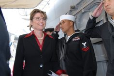 She's also the commander in chief of the Alaska State Defense Force (ASDF)