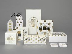Maison Dandoy - New Visual Identity and Packaging Design by Studio Base