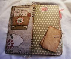 Creative Cafe': Christmas Mini Album Smash Book Style