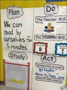As you prepare for a new school year, here is a great example of a primary PDSA board to help inspire ideas. High School Life, New School Year, Kaizen, Life Skills, Schools, Kindergarten, Preschool, Classroom, Study