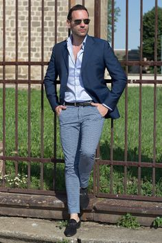 Stefano Zulian fashion for man bespoke Tailored fit blue blazer