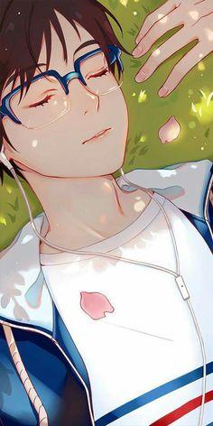 Yuuri Katsuki, Yuri on ice Cute Anime Boy, Anime Love, Anime Guys, Manga Anime, Fanarts Anime, Yuuri Katsuki, ユーリ!!! On Ice, Anime Lindo, Animation