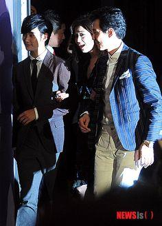 [July 10th 2012] Kim Soo Hyun (김수현) at The Thieves (도둑들) Press Screening #11 #KimSooHyun #SooHyun #JunJiHyun #LeeJungJae #TheThieves #Dodookdeul