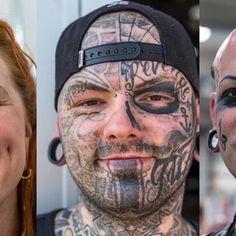 Wir haben uns mit Menschen über ihre Gesichtstattoos unterhalten