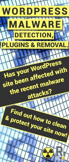 Has your WordPress site been affected with the recent malware threats? Find out how to detect malware, remove it & the best WordPress plugins for malware! Wordpress Plugins, Web Development, Behavior, How To Remove, Blogging, Web Design, Tools, Behance, Design Web