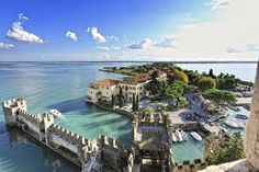 Sirmione, Italy - Enjoy the beauty of the setting and the mineral-rich water of the two thermal baths - Terme di Catullo.