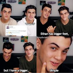 Ha ha nice save there Grayson Dolan Twins Imagines, Dolan Twins Memes, Dollan Twins, Cute Twins, Ethan And Grayson Dolan, Ethan Dolan, Twin Quotes, Ppr, Twin Sisters