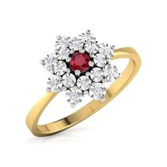 Floral Miracle Plate Ring