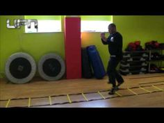Fast feet ladder drills for mma, boxing and others sports by UFN - YouTube
