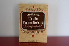 "trader-joes Petit Cocoa Batons ... ""No Mom, the petit cocoa batons are petit cocoa begone...."""