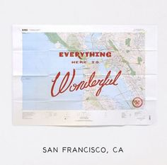 Maps as Art | Print by Best Made Company