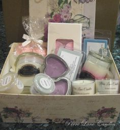 Gift boxes available from #PerreLaneCandles  https://www.facebook.com/PerreLaneCandles