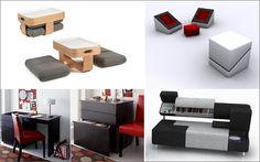 Decofilia Blog   Mueble multifuncional para espacios pequeños