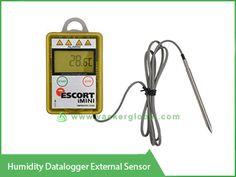 Temperature Logger with External Sensor VackerGlobal Data Logger, Temperature And Humidity