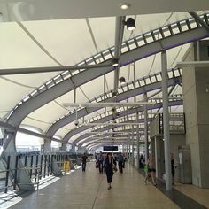 Brisbane Airport. Phonetica - the world's best PA system for airports.