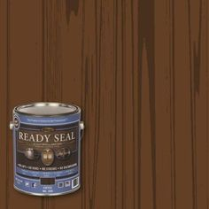 READY SEAL 1-gal. Coffee Ultimate Interior Wood Stain and Sealer-309 - The Home Depot