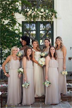 mauve bridesmaids dresses #cashiuswedding #beauty