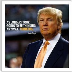 Donald Trump Quote Canvas Art Print  Please like, comment, and share! <3Make sure to follow me on facebook and pinterest.  www.facebook.com/alovingmom29 //
