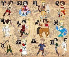 Shingeki No Zodiac by on DeviantArt Leo Zodiac, Zodiac Signs, Scorpio, Dares And Challenges, Tarot, Aot Characters, Fictional Characters, Zodiac Elements, Mary Sue