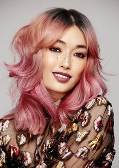 Colour melt by Courtney Treyvaud and Lyndal Salmon, Biba Academy - Victorian finalists for 2018 L'Oreal Professionnel Colour Trophy. #lorealprofessionnel #loreal