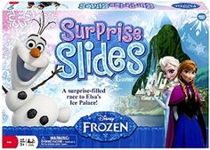 Share Tweet + 1 Mail Disney Frozen Surprise Slides Game $11.99 A surprise-filled race to Elsa's Ice palace! Journey high up into the mountains ...