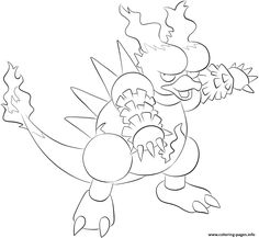Print 126 magmar pokemon coloring pages