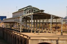 Originally built in the steel structure of the 'Old Train Station' has been at the corner of Carr Kempton Park, Old Train Station, Transport Museum, Beautiful World, South Africa, Places To Go, Nelson Mandela, Steel Structure, Train